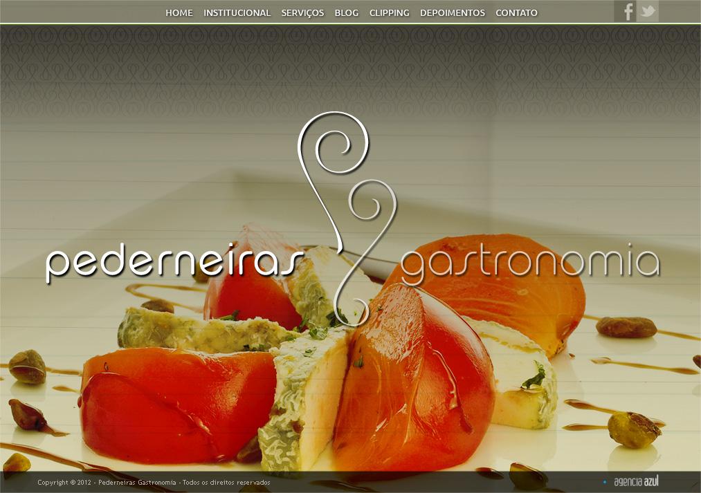 Site Institucional. Logo, identidade visual e papelaria.